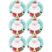 - Neşeli Noel Baba Büyük Etiket