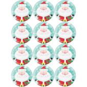 - Neşeli Noel Baba Küçük Etiket