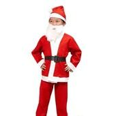 - Noel Baba Çocuk Kostüm Seti (6-9 Yaş)