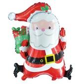 - Noel Baba Jumbo Folyo Balon (80cm)