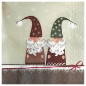 - Noel İkizleri Yılbaşı Peçetesi