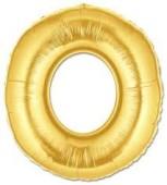 - O Harfi Altın Sarı Folyo Balon