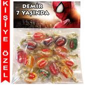 - Örümcek Adam Kişiye Özel Ambalajlı Kent Şeker