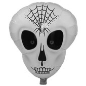 - Örümcek Ağ Desenli İskelet Folyo Balon