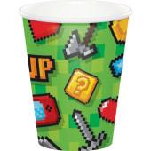 - Oyun Konsolu & Minecraft Partisi Bardak