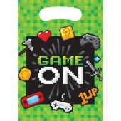 - Oyun Konsolu & Minecraft Hediye Poşeti