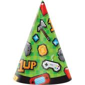 - Oyun Konsolu & Minecraft Parti Şapkası