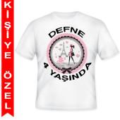 - Paris Partisi Kişiye Özel Baskılı T-Shirt