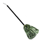 - Parlak Yeşil Folyo Cadı Süpürgesi
