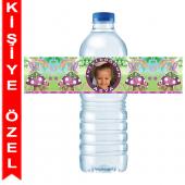 - Peri Kızı Kişiye Özel Su Şişesi Bandı