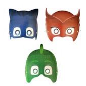 - PJ Maskeliler Karton Maske
