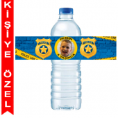- Polis Partisi Kişiye Özel Su Şişesi Bandı