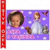 - Prenses Sofia Kişiye Özel Fotoğraflı Magnet