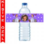 - Prenses Sofia Kişiye Özel Su Şişesi Bandı