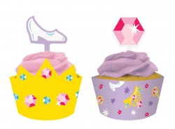 - Prensesin Şatosu Cup Cake Kılıfı ve Süsü