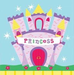 - Prensesin Şatosu Peçete