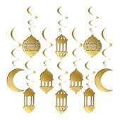 - Ramazan 3 Boyutlu Gold Mekan Süsleri