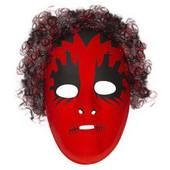 - Korkunç Saçlı Kırmızı Maske