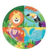 - Safari Hayvanları Küçük Tabak