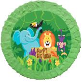 - Safari Hayvanlarım Pinyata ve Sopası