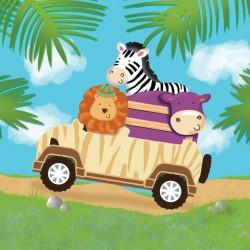 - Safari Macerası Peçete