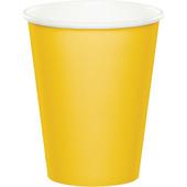 - Sarı Karton Bardak