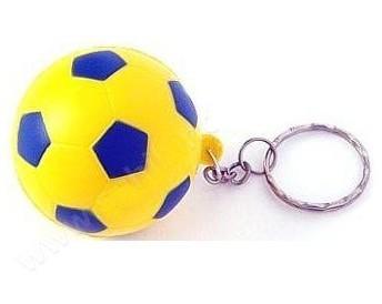 Sarı Lacivert Futbol Topu Anahtarlık