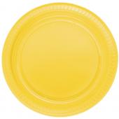 - Sarı Plastik Tabak