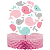 - Sevimli Pembe Balinalar Masa Orta Süsü
