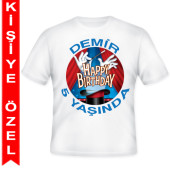- Sihirbaz Partisi Kişiye Özel Baskılı T-Shirt
