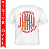 - Sirk Zamanı Kişiye Özel Baskılı T-Shirt