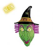 Widmann - Şişirilebilir Neon Cadı Mekan Süsü