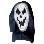 - Siyah Başlıklı Beyaz Hayalet Maske