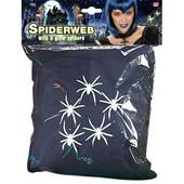 - Siyah Örümcek Ağı ve 5 Parlayan Örümcek