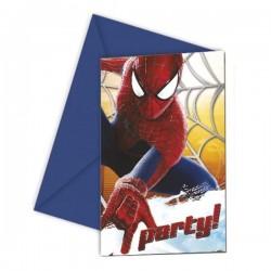 - Spiderman 2 Davetiye Kartı ve Zarfı