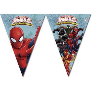 Spiderman Bayrak Afiş