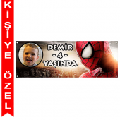 - Spiderman Kişiye Özel Afiş