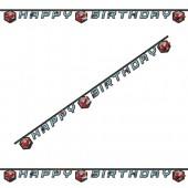 - Spiderman / Örümcek Happy Birthday Afiş