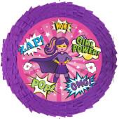 - Süper Kahraman Kız Pinyata ve Sopası