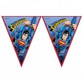 - Süperman Bayrak Afiş