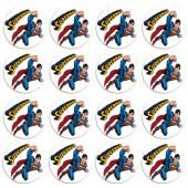 - Süperman Etiketli Hediyelik Sabun