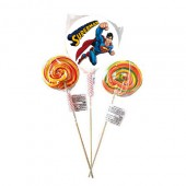 - Süperman Etiketli Lolipop (20gr.)
