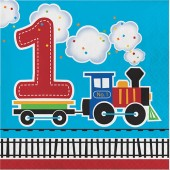 - Trenlerim Partisi 1 Yaş Büyük Peçete