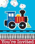 - Trenlerim Partisi Davetiye Kartı