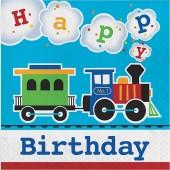 - Trenlerim Partisi Happy Birthday Büyük Peçete