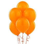 - Turuncu Lateks Balon