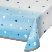 - Twinkle Little Star Mavi Masa Örtüsü