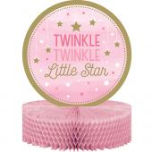- Twinkle Little Star Pembe Masa Orta Süsü