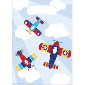 - Uçaklar Partisi Hediye Poşeti
