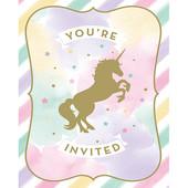 - Unicorn Partisi Davetiye Kartı
